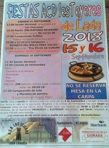 Fiestas en Les Teyeres de Lada 2018 @ Les Teyeres de Lada | Langreo | Principado de Asturias | España