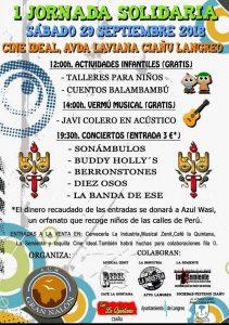 I Jornada Solidaria en el Cine Ideal (Ciaño) @ Cine Ideal   Ciaño   Principado de Asturias   España