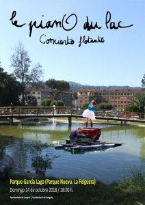 Concierto: Le piano du lac @ Parque Alcalde García Lago | Langreo | Principado de Asturias | España