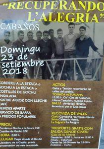 Recuperando la alegría - Fiesta de Cabaños 2018 @ Cabaños | Langreo | Principado de Asturias | España