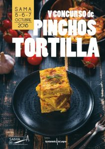 V Concurso de Pinchos de Tortilla en Sama @ Hostelería de Sama | Sama | Principado de Asturias | España