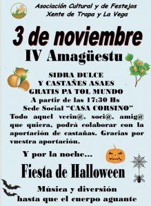 Amagüestu y Halloweeen Xente de Trapa y La Vega @ Sede Social | La Trapa | Principado de Asturias | España
