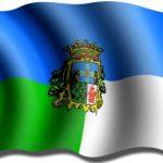 Bandera y escudo de Langreo