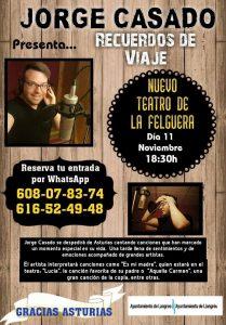 Concierto: Jorge Casado @ Nuevo Teatro de La Felguera | Langreo | Principado de Asturias | España