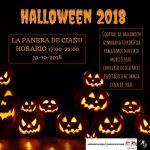 Fiesta de halloween en Ciaño 2018