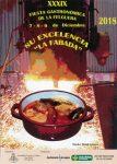 "XXXIX Fiesta Gastronómica de La Felguera ""Su excelencia la fabada"" 2018"
