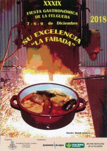 XXXIX Jornadas Gastronómicas Su excelencia la fabada
