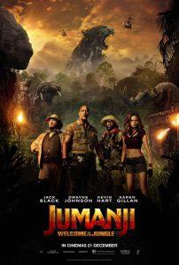Cine: Jumanji: Bienvenidos a la jungla @ Cine Ideal