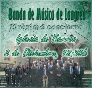 Concierto de la Banda de Música de Langreo