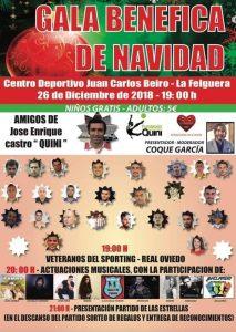 """Gala Benéfica de Navidad @ Complejo Deportivo """"Juan Carlos Beiro"""""""