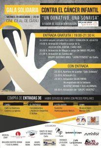Gala solidaria contra del cáncer infantil @ Cine Ideal