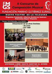 II Concurso Composición Musical - Fundación Marino Gutiérrez @ Nuevo Teatro de La Felguerra