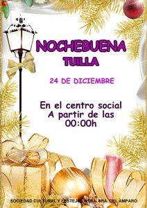 Fiesta de Nochebuena 2018 en Tuilla @ Centro Social de Tuilla