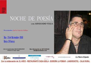 """Noche de poesía: Armando Vega @ Centro de Creación Escénica """"Carlos Álvarez-Nòvoa"""""""
