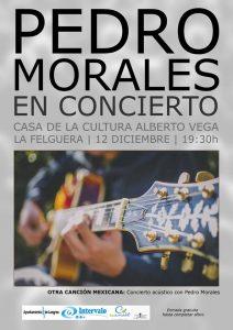 Concierto: Pedro Morales @ Casa de Cultura de La Felguera