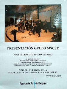 Presentación Grupo MSCLE (Musicales Ejecutivos) @ Cine Felgueroso
