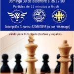 V Torneo de Navidad de ajedrez - Ateneo-Casino de La Felguera