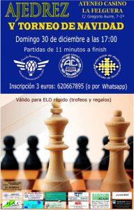 V Torneo de Navidad de ajedrez - Ateneo-Casino de La Felguera @ Ateneo de La Felguera