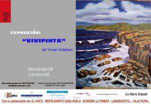 """Exposición pictórica: Vivipinta @ Centro de Creación Escénica """"Carlos Álvarez-Nòvoa"""""""