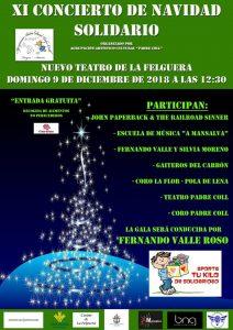 XI Concierto Solidario de Navidad Agrupación Padre Coll @ Nuevo Teatro de La Felguera   Langreo   Principado de Asturias   España