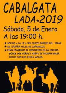 Cabalgata de Lada 2019 @ Lada