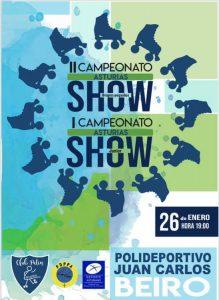 Campeonato de Asturias Show 2019 - Patinaje artístico @ Polideportivo de Riaño