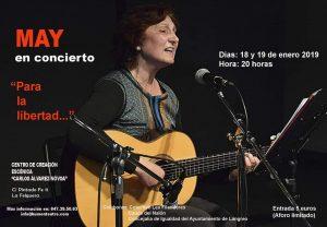 "Concierto: May @ Centro de Creación Escénica ""Carlos Álvarez-Nòvoa"""