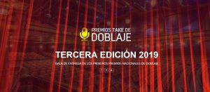 3ª Gala de entrega de los premios Take de doblaje 2019 @ Nuevo Teatro de La Felguera