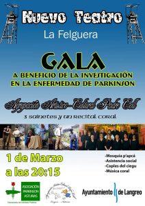 Gala en beneficio de la investigación contra el Parkinson @ Nuevo Teatro de La Felguera