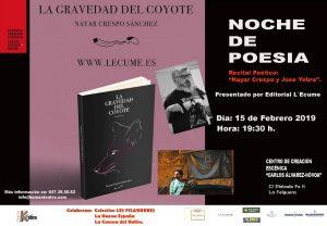 """Noche de poesía: Nayar Crespo @ Centro de Creación Escénica """"Carlos Álvarez-Nòvoa"""""""