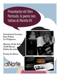 Presentación de libro: Península @ Sociedad de Festejos San Pedro de La Felguera