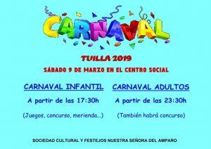Carnaval 2019 en Tuilla @ Centro Social de Tuilla