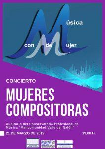 Concierto: Mujeres compositoras @ Conservatorio del Nalón