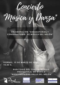 Concierto: Música y danza @ Conservatorio del Nalón