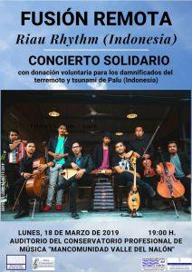 Concierto Solidario: Fusión remota @ Conservatorio del Nalón