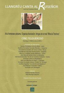 Concierto: Llangréu canta al Ruiseñor @ Cine Felgueroso