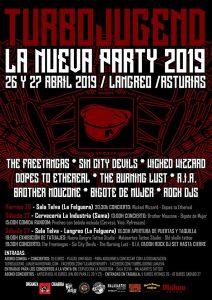 TurboJugend La Nueva Party 2019 @ Sala Telva y Cervecería la Industria