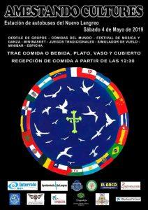 Amestando Cultures 2019 @ Estación de autobuses de La Felguera