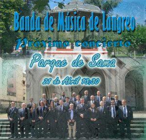 Concierto Banda de Música de Langreo @ Parque Dorado