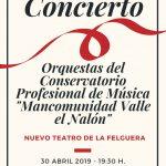 Concierto de primavera del Conservatorio del Nalón