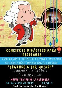Concierto didáctico: Jugando a ser Mozart @ Nuevo Teatro de La Felguera