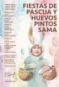 Fiestas de Pascua y Huevos Pintos 2019 en Sama de Langreo @ Sama