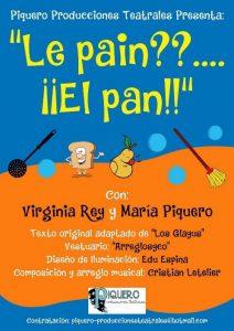 Teatro pa neñ@s: Le pain??... ¡¡El pan!! @ Nuevo Teatro de La Felguera