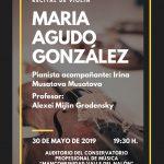 Recital de violín: María Agudo González