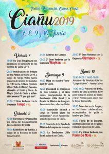 Fiestas del Corpus Christi en Ciaño 2019 @ Ciaño