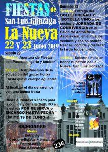Fiestas San Luis Gonzaga 2019 en La Nueva (Langreo) @ La Nueva