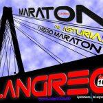 Maratón y media maratón de Langreo - Asturias 2019