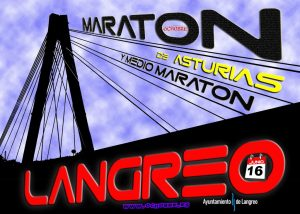 Maratón y media maratón de Langreo - Asturias 2019 @ Langreo