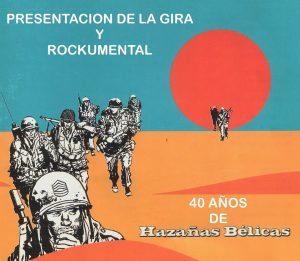 """Presentación: 40 años de """"Hazañas bélicas"""" @ Sociedad de Festejos de San Pedro"""