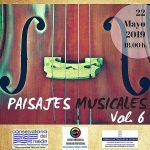 Presentación de disco Paisajes Musicales vol. 6